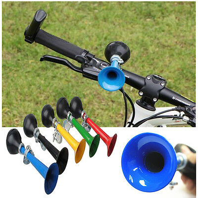 Bike Bicycle Metal Horn Cycling Air Horn Bell Bugle Squeeze Rubber Bulb Fashion