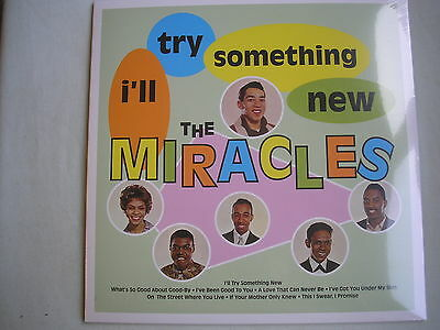 THE MIRACLES I'll Try Something New LP 180g 2015 new mint sealed remaster