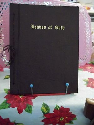 Leaves of Gold. Edited by Clyde Lytle. 1948 book.