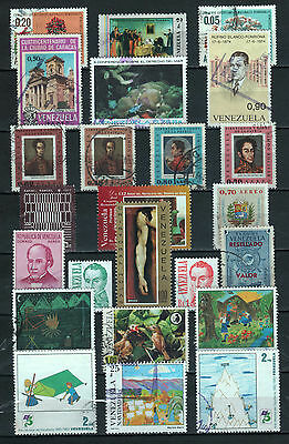 """R/al16722, LOT OF 2 USED STAMPS OF """"VENEZUELA"""", ALL DIFFERENT"""
