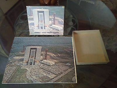 RARE VINTAGE KENNEDY SPACE CENTER JIGSAW PUZZLE NASA ASTRONAUT 1960s EXCELLENT