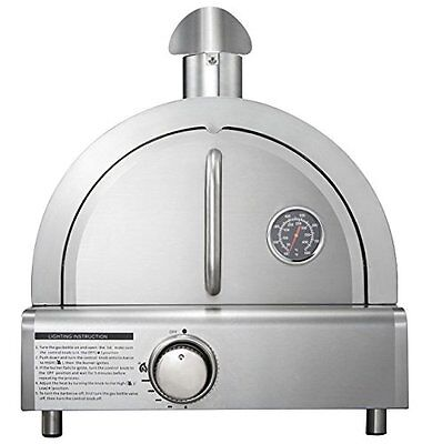 Mont Alpi MAPZ-SS Table Top Gas Pizza Oven, Large, Stainless Steel Brand New!