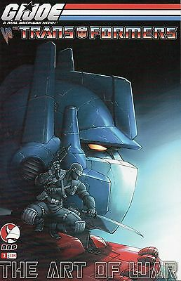 GI Joe vs Transformers The Art Of War #2 (NM)`06 Seeley/ Ng  (Cover B)