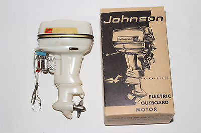 1950's Fleet Line, Johnson 40 HP Battery Operated Boat Motor with Box
