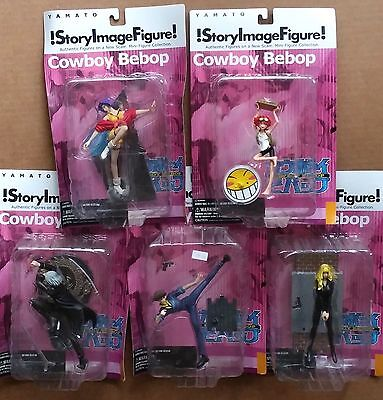 Yamato Story Image Figure Cowboy Bebop x5 Figures Rare Anime -NEW in package