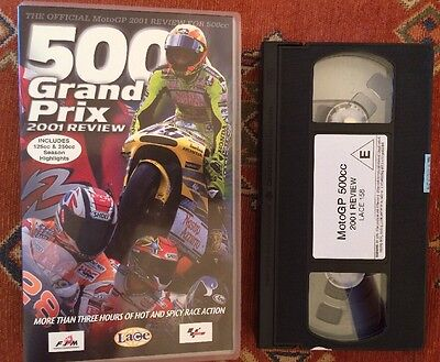 MOTO GP 2001 - 500cc Review - The Last Year Of The Screaming 2 Strokes-VHS Video