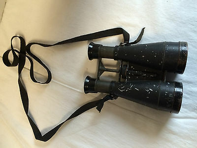 Vintage Old Reynolds Sport Glass Binoculars with strap