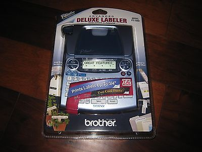 NEW Brother P touch Advanced Deluxe Labeler PT-1880 Label Maker