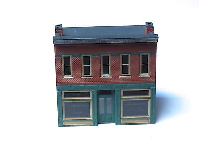 Z-scale Micro Structures Built KC's Hardware Store brass high detailing