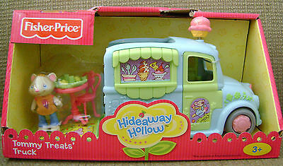 Fisher Price Hideaway Hollow Tommy Treats Truck *new* Playset *new*
