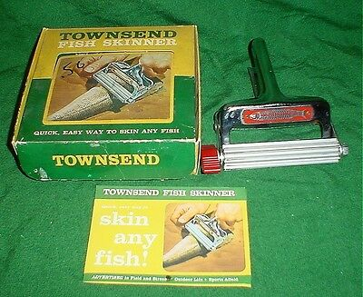 Townsend Fish Skinner, Never Used, Brand New In Box With Instructions, Vintage