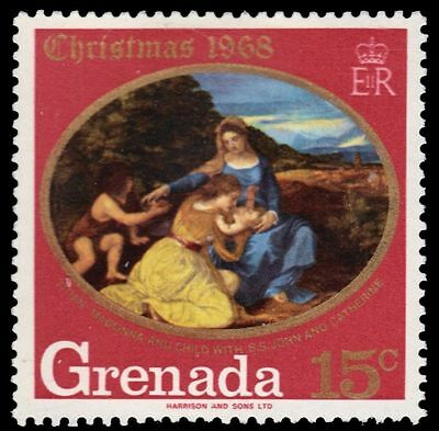 "GRENADA 291 (SG327) - Christmas ""Madonna and Child"" by Titian (pf7449)"