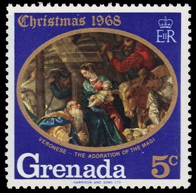 "GRENADA 290 (SG326) - Christmas ""Adoration of the Magi"" by Veronese (pf7450)"