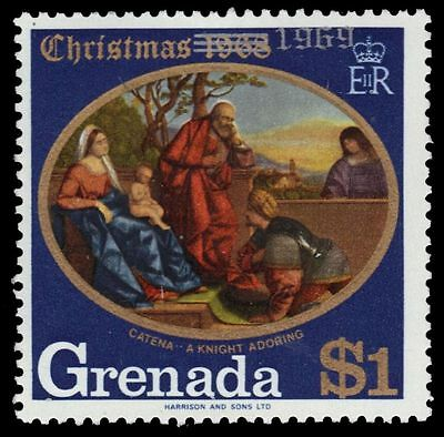 "GRENADA 344 (SG366) - Christmas ""A Knight Adoring the Infant Christ"" (pf7404)"