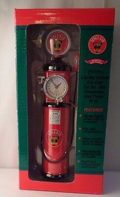 Crown Premiums Sinclair Ethyl Volometer Red Gas Pump Diecast Bank #850
