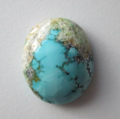 9.50 ct 100% Natural Blue Moon Turquoise Cabochon Gemstone, # CE 063