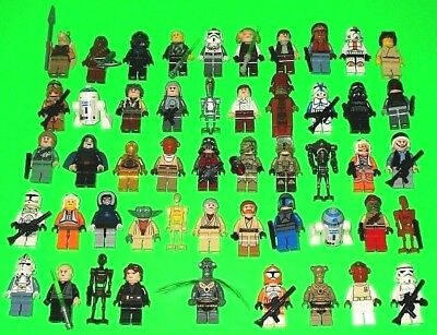50 Lego Star Wars Figuren ### Skywalker - Clone Trooper - C-3Po - Yoda ### =Top