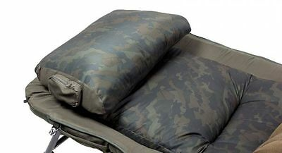 Nash Tackle NEW Version Indulgence Bedchair Camo Pillows Only *All Sizes*