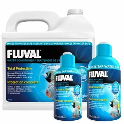 Fluval Aquaplus Aquarium Fresh Tap Water Conditioner Fish Tank Aqua Safe Start
