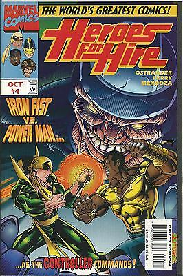 Heroes For Hire #4  (Marvel) 1997 (Nm-)