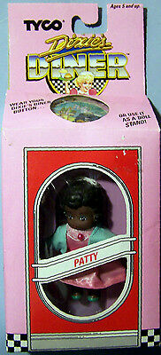 "Hard To Find Tyco Dixie's Diner Doll 3.5"" Aa Patty Nrfb"