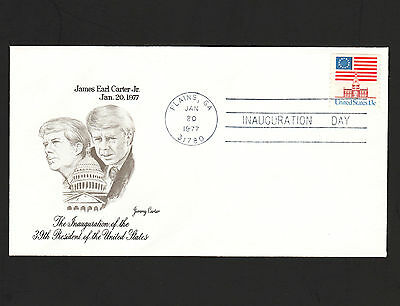 OPC 1977 President Jimmy Carter Inauguration Day FDC Unaddressed