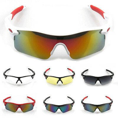 Outdoor Cycling Bicycle Bike Goggles Eyewear Sports Men UV400 Sunglasses Glasses
