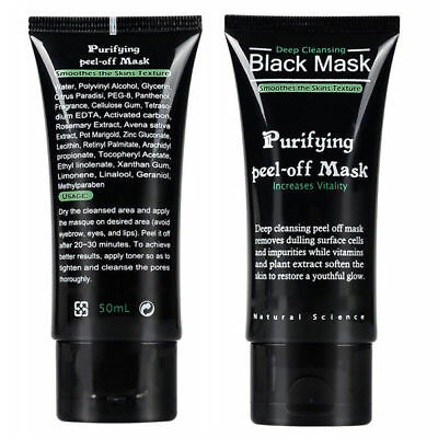 New Deep Cleansing Black Mask Purifying Peel-off Mask Clean Black-head Facial
