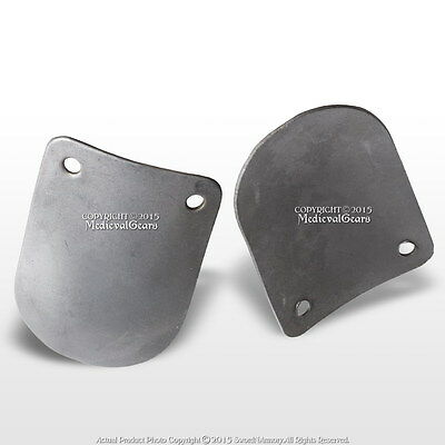 Medieval Style 100 Pcs Loose Round Scale Armor Plate 20G Steel SCA LARP Cosplay