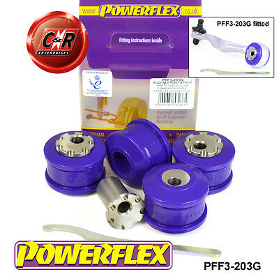 Audi A4 B8 08-15 Powerflex Front Uppr Arm To Chassis Bushes Camber Adj PFF3-203G