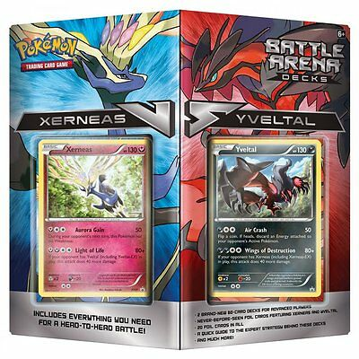 POKEMON BATTLE ARENA DECK * Xerneas vs Yveltal