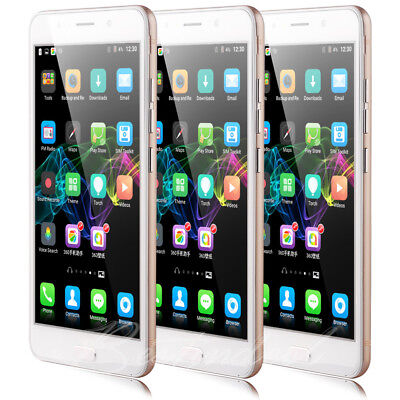 New Unlocked 6 Inch Mobile Phone 8GB Android 5.1 Quad Core Dual SIM Smartphone