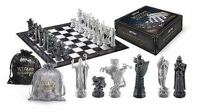 Harry Potter Wizard Chess Set Final Challenge Movie Licenced Noble Collection