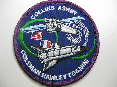 U.s. Raumfahrt Nasa Space Aufnäher Patch Sts-93 Mission Fasching Karneval