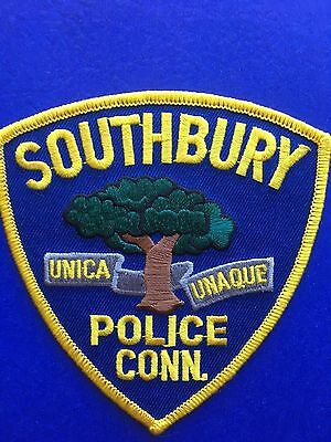 Southbury Connecticut  Police Shoulder Patch