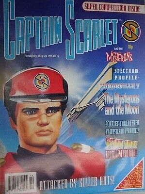 Captain Scarlet - The Comic. No 14. May 1994. ITC.