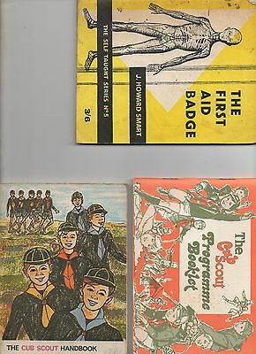 A 'Library' of Scouting and Cubs Booklets including  some rare items