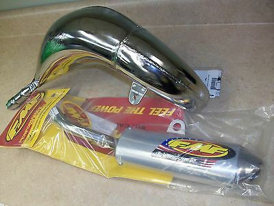 New Fmf Sst Exhaust Pipe + Powercore 2 Silencer Yamaha Yz 125 Yz125 2005-2017