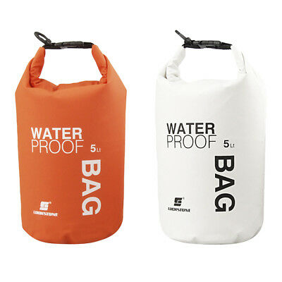 2pcs Outdoor Waterproof Canoe Swimming Camping Hiking Dry Bags Pouch 5L