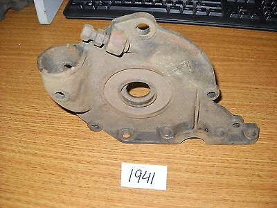 Vintage Ford Model T Timing Cover Large Funnel 1915-1918? E cast in