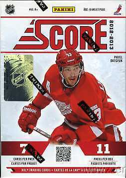 2012/13 Score NHL Hockey Factory Sealed 20 Box CASE !!! Rookie in Every Pack !