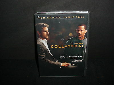 Collateral DVD Movie Widescreen Tom Cruise Jamie Foxx