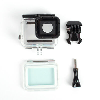 Touch Screen Waterproof Housing Case 60M Protective Box For Go Pro Hero5 JNEG