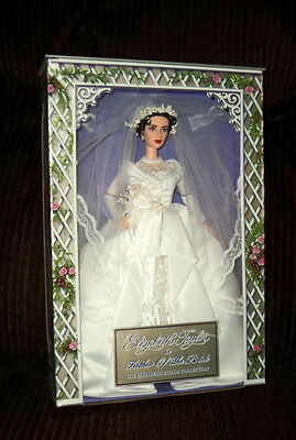 2000 Barbie As Elizabeth Taylor In Father Of The Bride Nrfb!