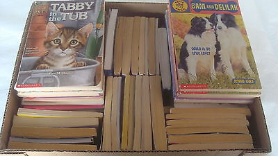 KIDS Medium Reader Softcover BOOKS Lot 72 Chapter-Size Stories Novels Boys Girls