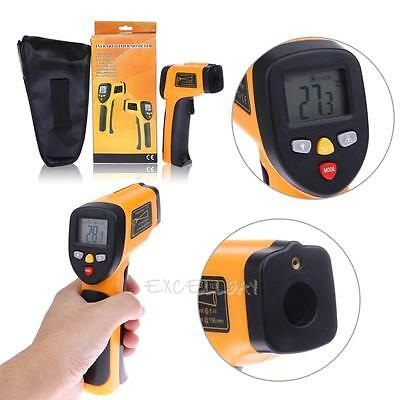 -50-650°C Non-Contact Digital Temperature IR Infrared Thermometer Gun Pyrometer