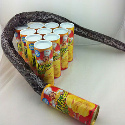 Funny Potato Chip Cans Scary Trick Prank Toy Creative Fries Cans a Snake Joke
