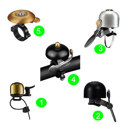 RockBros Cycling Handlebar Ring Bell Horn 5 Design 4 Color Bike Bicycle Bells