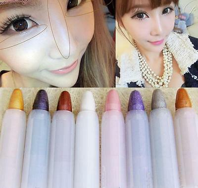 Shiny Beauty Highlighter Eyeshadow Pencil Cosmetic Glitter Eye Shadow Pen