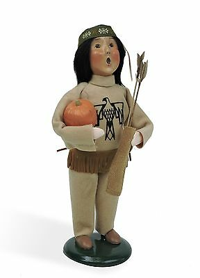 Byers Choice Amer Indian Boy w/Arrows Open House Exclusive Very Limited